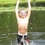 skinny swimmer
